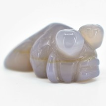 Carnelian Agate Gemstone Tiny Miniature Goldfish Fish Figurine Hand Carved China image 2
