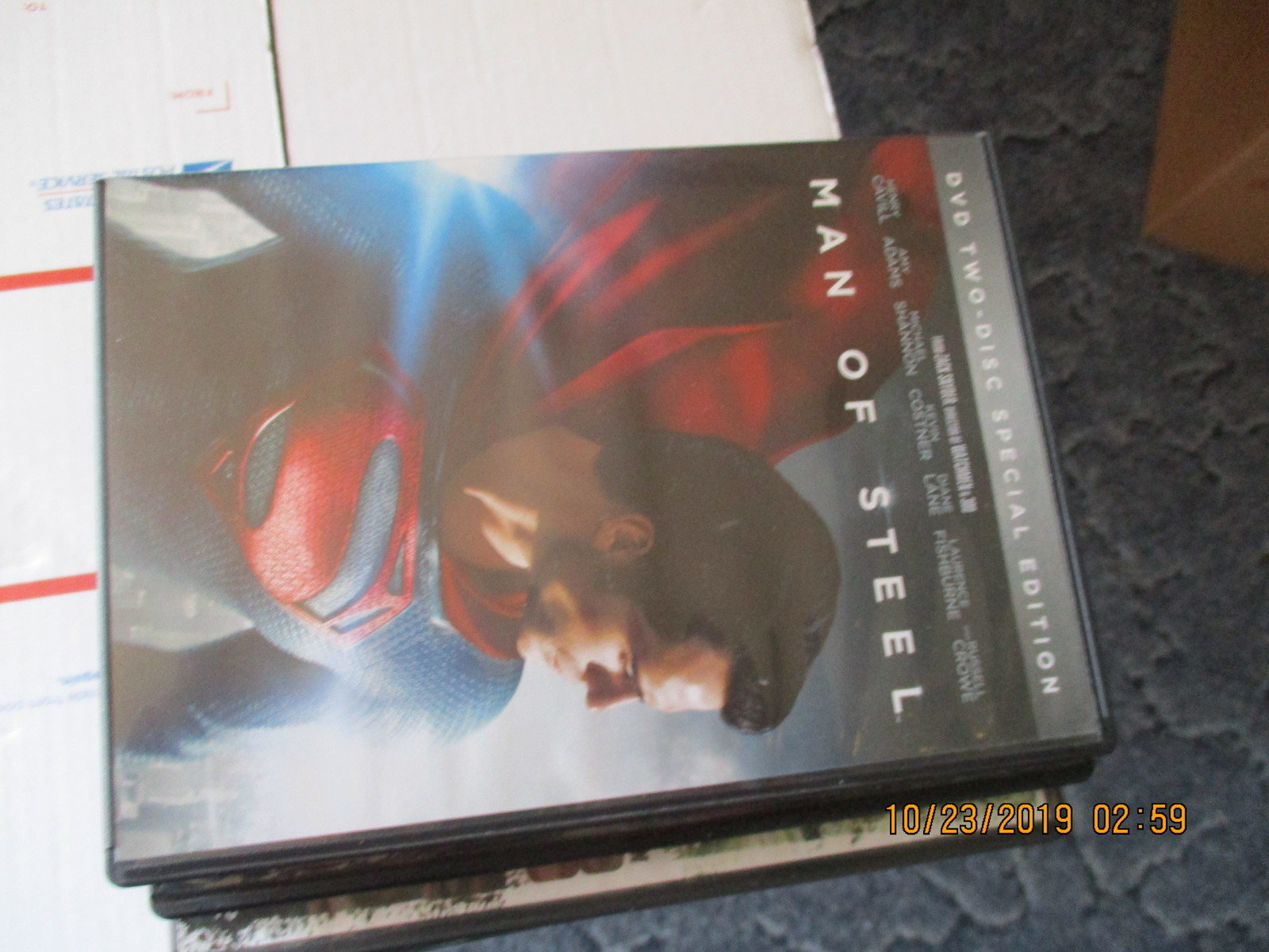 Primary image for Man of Steel two disc special edition dvd