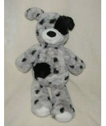 "MARY MEYER MARSHMALLOW ZOO PLUSH ASHER PUPPY DOG GREY BLACK SPOT DOT 14"" - $23.45"