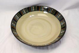 "Sonoma Vallejo Blue Pasta Serving Bowl 14"" image 4"