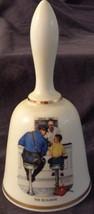 The Runaway, Norman Rockwell - 1977 Danbury Mint Collectible Bell - VGC COA - $26.72