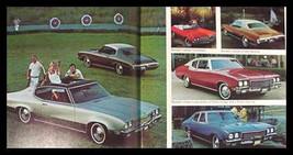 1972 Buick Orig Brochure Riviera Electra LeSabre Xlnt - $8.33