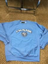 Cadillac Escalade Crew Neck Sweatshirt Steve & Barry's Men's XS Blue Exc... - $29.69