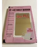 Love Ellie's Megan XL LED Tablet Mirror With Dimmable Lights & Micro USB... - $42.57
