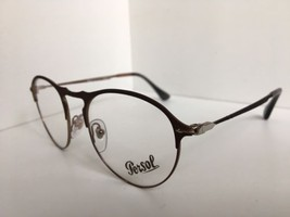 New Persol 7092-V 1072 50mm Rx Round Bronze Eyeglasses Frame Hand Made in Italy - $179.99