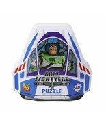 Disney Pixar Toy Story 4 Shaped Buzz Lightyear Tin with 48Piece Surprise... - $11.92