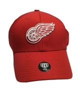 OTS NHL Detroit Red Wings All-Star MVP Adjustable Cap Hat, Red, One Size - $13.09