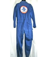 Vintage American Airlines  Work Wear  Coveralls Overalls Mechanic Jumpsu... - $289.29