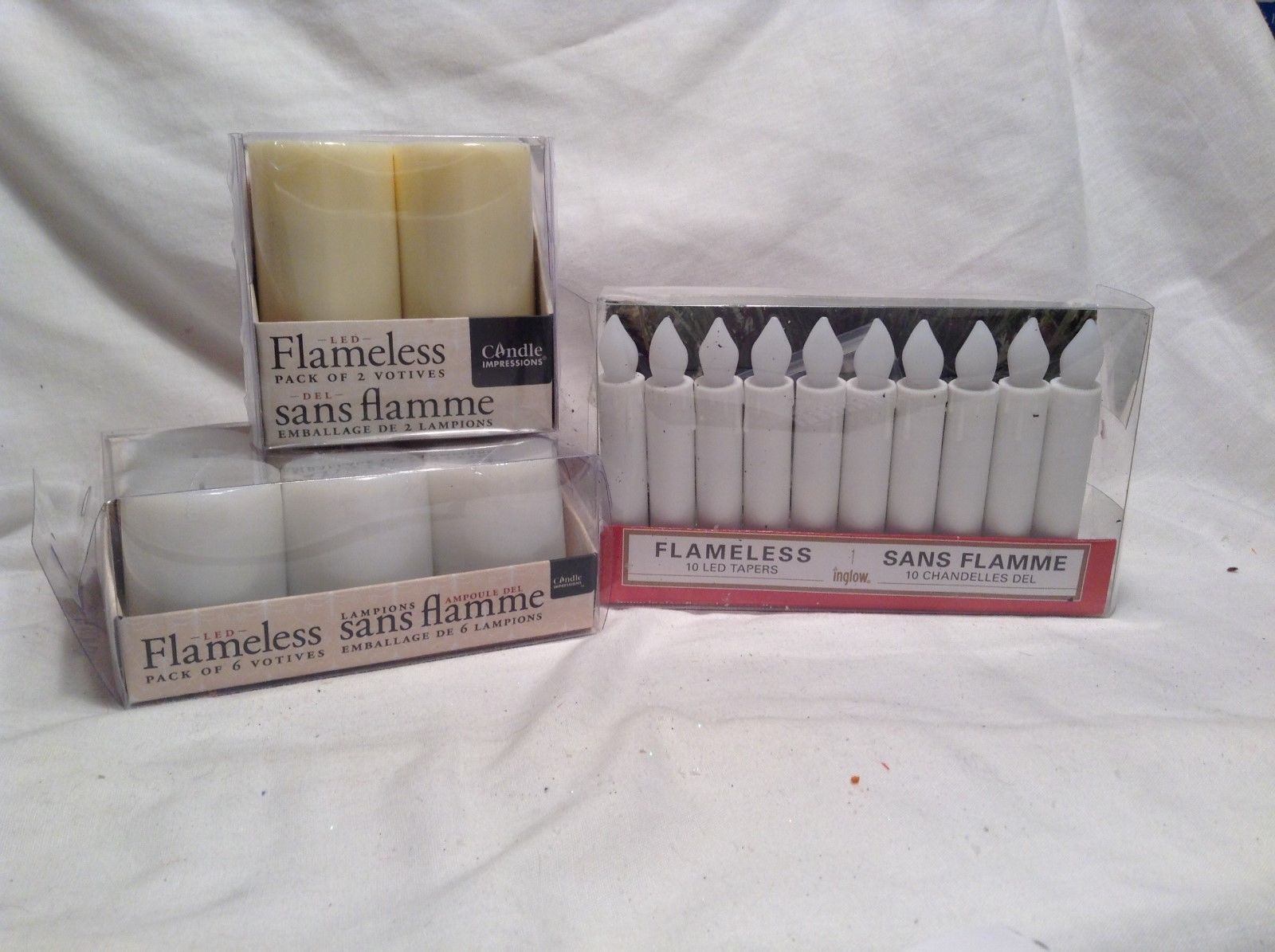 NEW Candle Impressions/Inglow Flameless Candle Sets