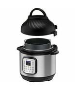 Instant Pot 8qt Duo Crisp Combo Electric Pressure Cooker Air Fryer - $98.01