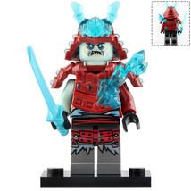Blizzard Warrior (Ice Army) Ninjago Minifigure Block Gift Toy New - $2.90