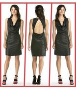 RACHEL by Rachel Roy Black Cowl Neck Sleeveless Sequin Dress - Size Extr... - $64.95