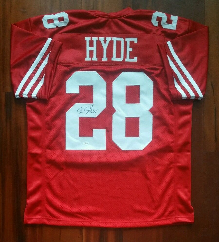 4135aa99116 Carlos Hyde Autographed Signed Jersey San and 50 similar items. S l1600