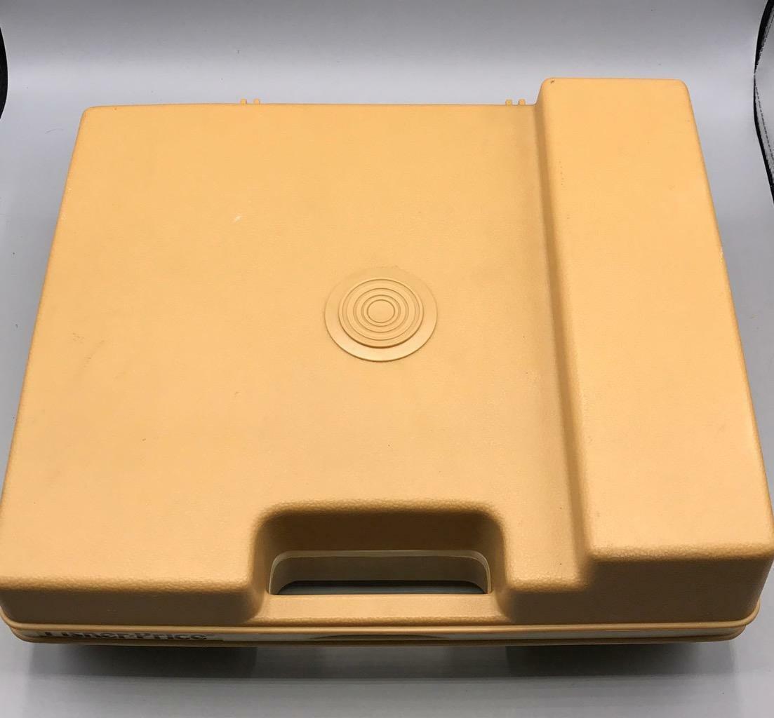 Fisher Price 825 Tragbar Record Player 2-Speed ✿ 1978 Vtg image 2