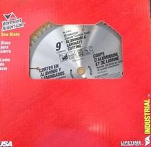 "Vermont American 27415 9"" x 60Tooth Laminate & Aluminum Saw Blade USA - $15.84"