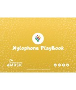 Music PlayBook for plastic resonator bells (xylophone) (ages 2+) (book o... - $24.00