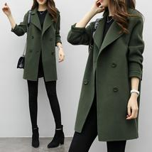 Women's Autumn Winter Jacket Casual Outwear Parka Cardigan Slim Coat Overcoat