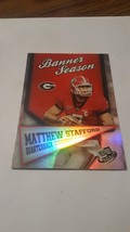 2009 Press Pass Banner Season Mathew Stafford - $1.93