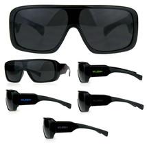 Mens Futuristic Shield Robotic Kush Gangster Plastic Sunglasses - $9.95