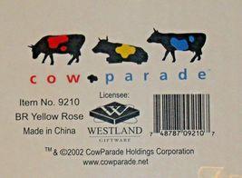 CowParade BR Yellow Rose Westland Giftware # 9210 AA-191916 Vintage Collectibl image 6