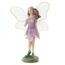 Yard And Garden Minis Large Wing Fairy Resin 2.5 X 4.75 Inches - $8.06