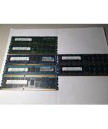 LOT of 7 Hynix Samsung 4GB 1Rx4 2Rx4 PC3 10600R ECC Server Memory RAM - $39.60