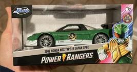 2002 HONDA NSX TYPE-R POWER RANGERS GREEN DIECAST 1/24 Jada Toys NEW FRE... - $29.99
