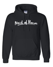 Maid of honor hoodie hen party shirt gift ideas for her wedding and brid... - $32.50