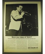 1963 New England Life Insurance Ad - Glenn Miller - Were you class of 1942? - $14.99