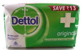 Dettol Original Anti Bacterial antiseptic Bar Soap Daily Care 75gmbars(Pack of4) - $13.25