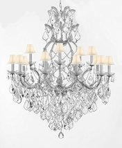 Made with Swarovski Crystal Maria Theresa Chandelier Lights Fixture Pendant Ceil - $959.83