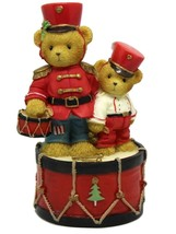 Cherished Teddies Brock Sheldon Marching To The Beat of Holiday Fun Avon... - $30.75