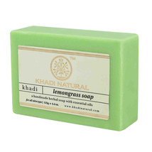 Khadi Natural  Minimize Pores Lemongrass Handmade Herbal Soap (125gm /4.... - $9.99
