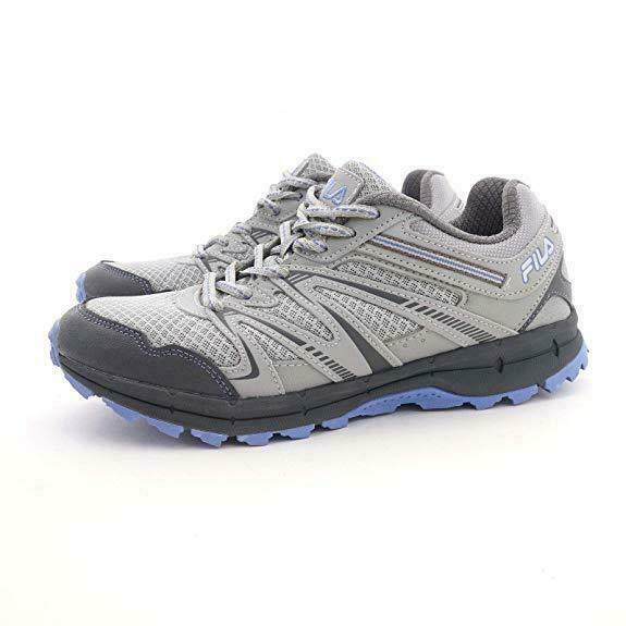 Primary image for FILA NORTHAMPTON TRAIL TRAINER SPORTS SNEAKER WOMEN SHOES GREY/BLUE SIZE 10 NEW