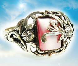HAUNTED RING THE MOST EXQUISITE BEAUTY FOREVER EXTREME MAGICK MYSTICAL T... - $307.77