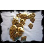 Conchos Western Gold Diamond Double Slotted 12 Pieces - $4.00