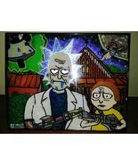 Rick & Morty American Gothic Parody - $40.50