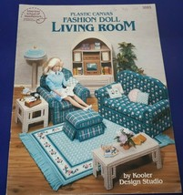 American School of Needlework 3085 FASHION DOLL LIVING ROOM Plastic Canv... - $10.65