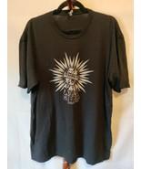 Next Level Apparel men's tee shirt size XXL black SS crew neck logo on f... - $12.16