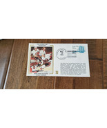 1983 Z SILK FDC NEW YORK ISLANDERS 4 TIME STANLEY CUP CHAMPIONS ENVELOPE... - $9.99