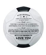 Kenon Printed Soccer Ball/Football Toy to Your Grandson - Anniversary Bi... - $36.79