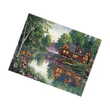 Dimensions Gold Collection Counted Cross Stitch Kit, Cabin Fever, 18 Count Iv - $56.99
