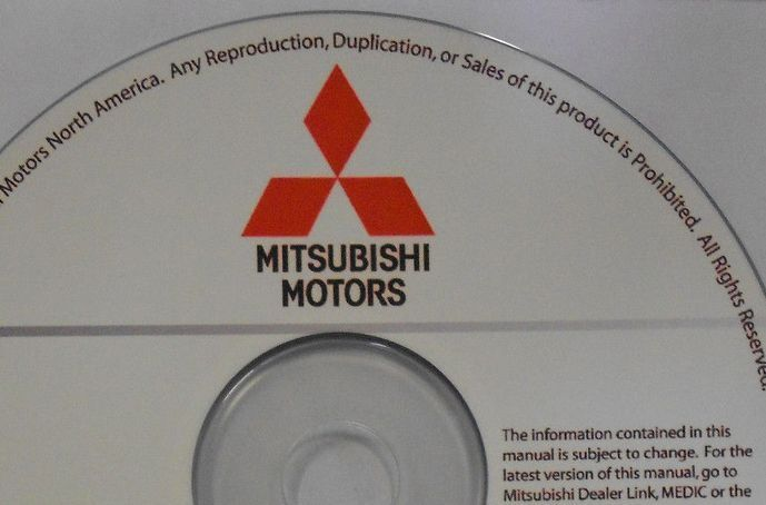 2015 MITSUBISHI LANCER SPORTBACK Service Repair Shop Manual NEW ON CD FACTORY