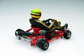 *Fujimi model 1/20 cart series No.1 Ayrton Senna cart 1981 - $56.53