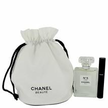 Chanel No 5 L'eau Gift Set - 3.4 oz Eau De Toilette SprayLe Volum 10 Mascara-NIB - $190.99