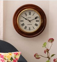 Brown Solid Wood Open Escapement Analog Wall Clock - $352.00+