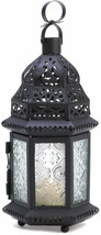 Gifts and Decor Winter Fire Candle Holder Hanging Lantern Garden Light - $38.11