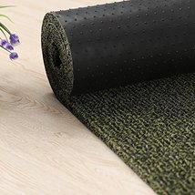 Black/Tea Green Non Slip Runner Entrance Mat for Lobbies and Indoor Entr... - €109,70 EUR