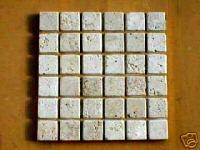 "10 Travertine 36 Pc. Mosaic Tile Molds Make 100s 13""x13"" Floor Paver, Wall Tiles"