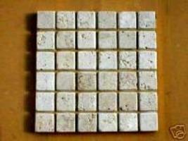 "10 Travertine 36 Pc. Mosaic Tile Molds Make 100s 13""x13"" Floor Paver, Wall Tiles image 1"
